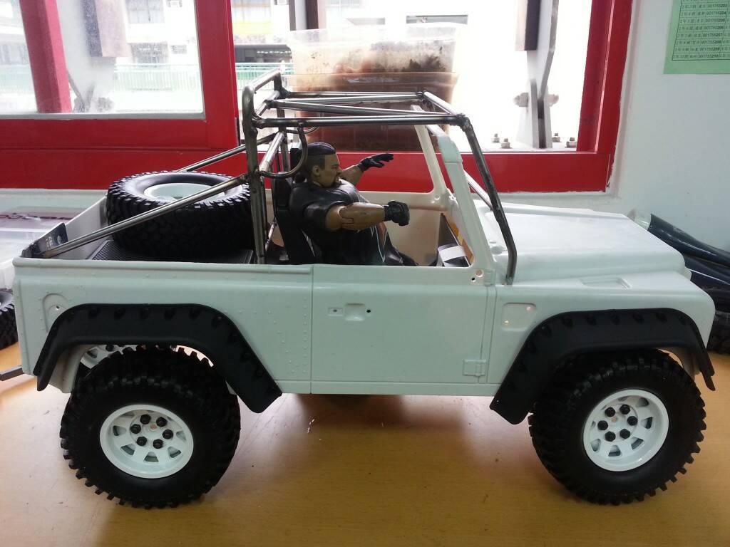新作品 胖哥的d90骨架车.骨架焊接完工 高清图片