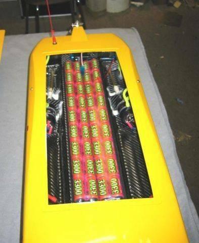 大黄猫 - 电动船 - 台湾遥控模型
