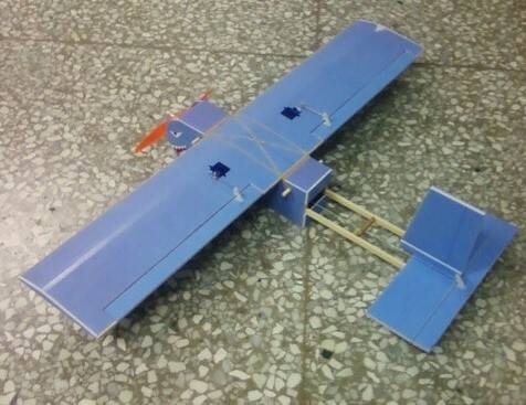 手工飞机模型制作图纸_手工飞机模型制作图纸高清